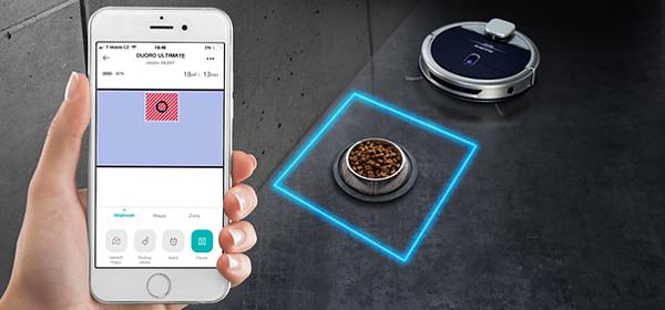 Duoro XCONTROL extra teljesítményű robotporszívó